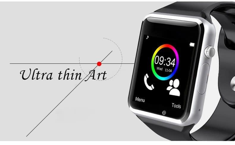 W08 Smart Watch With GSM Slot, TF Card, Bluetooth For Android & iPhone 4