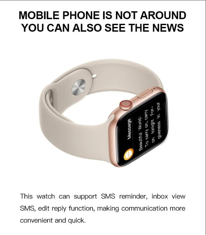 T500 Smart Watch Series 5 (BLACK) 7