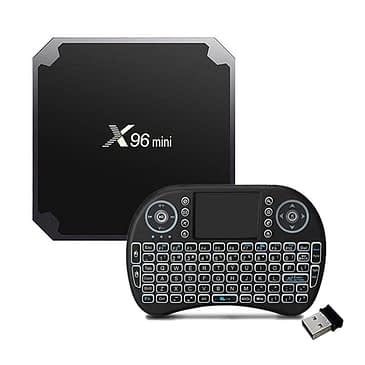 X96 Mini TV BOX and Mini Wireless Keyboard in Pakistan