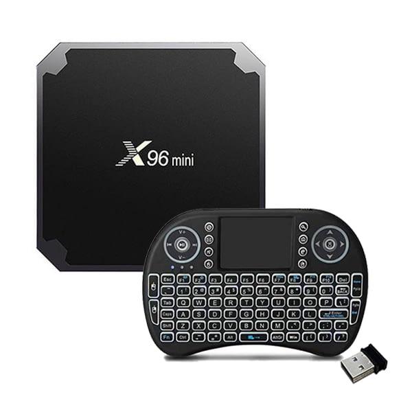X96 Mini TV BOX and Mini Wireless Keyboard in Pakistan