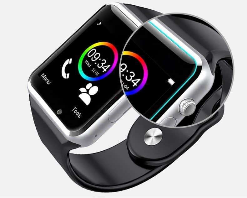 W08 Smart Watch With GSM Slot, TF Card, Bluetooth For Android & iPhone 5