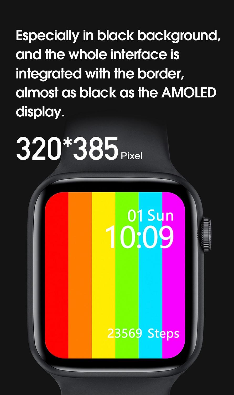 W26 Smart Watch - Watch 6 - Full Screen Infinity Retina Display 4