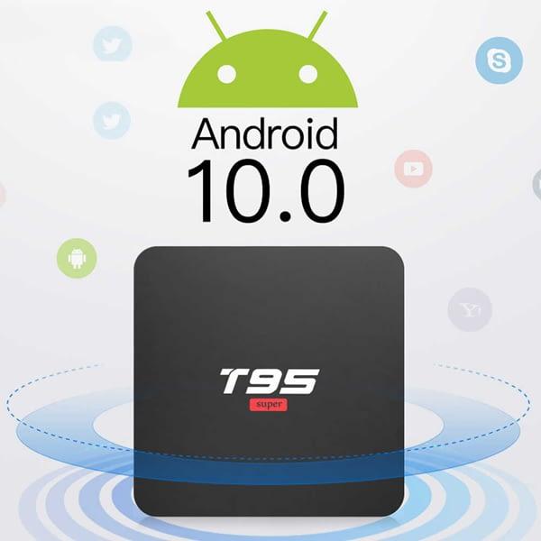 T95 Super Android 10.0 Smart TV BOX 2GB (DDR3) RAM 16GB ROM Quad Core 1.5GHz 1