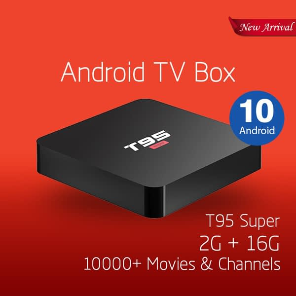 T95 Super Smart TV BOX Online in pakistan