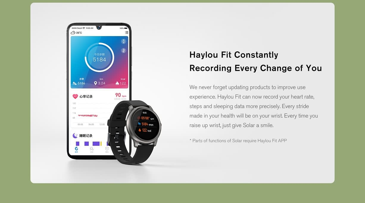 Haylou Solar LS05 Smartwatch: 30 Days Battery Life IP68 Waterproof - Global Version 15