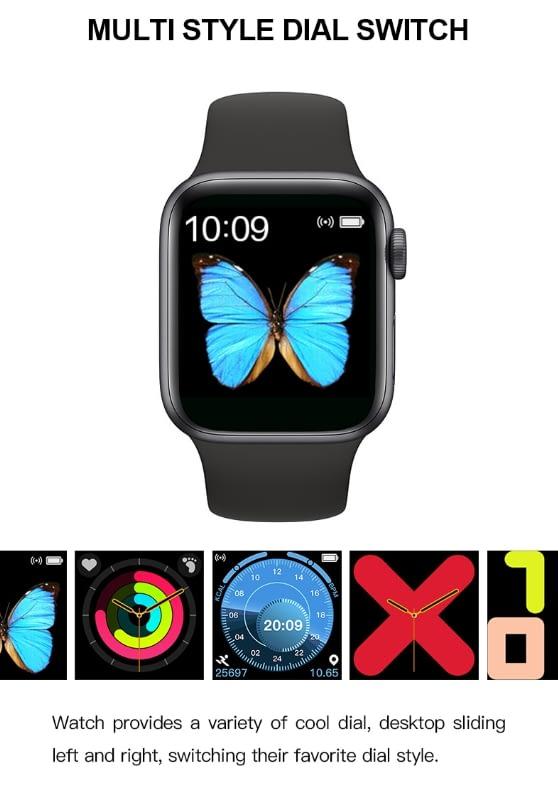 T500 Smart Watch Series 5 (BLACK) 3