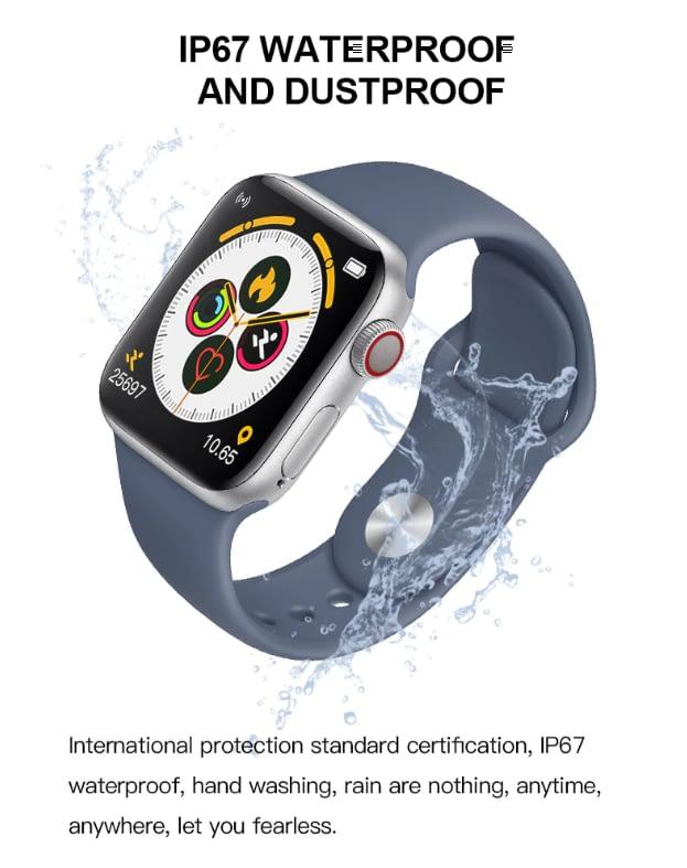 T500 Smart Watch Series 5 (BLACK) 8