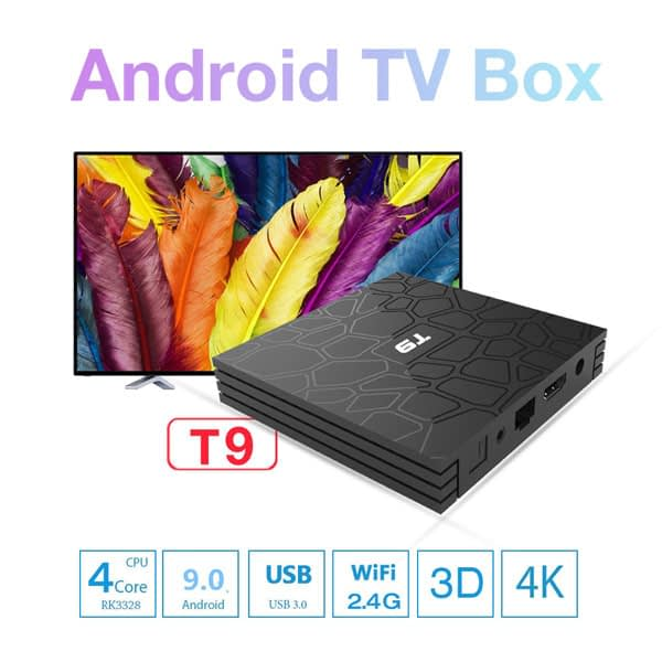 T9 Android 9.0 Smart TV BOX With Mini Wireless Keyboard 1