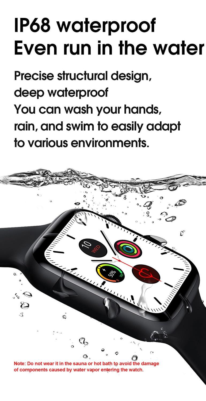 W26 Smart Watch - Watch 6 - Full Screen Infinity Retina Display 6